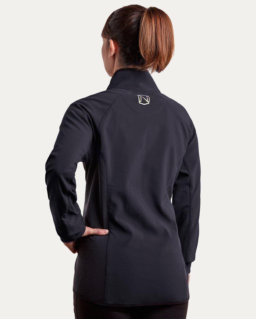 NUOVO    Nobile Outfitters a tutto tondo Giacca Soft Shell in nero taglie XS-L 69fa2a