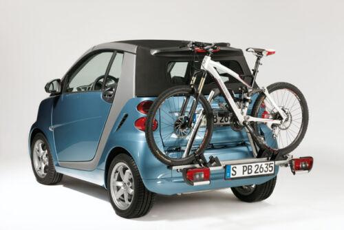 Smart portabicicletas para soportes básicos 2 bicicleta fortwo Coupé y Cabrio 451