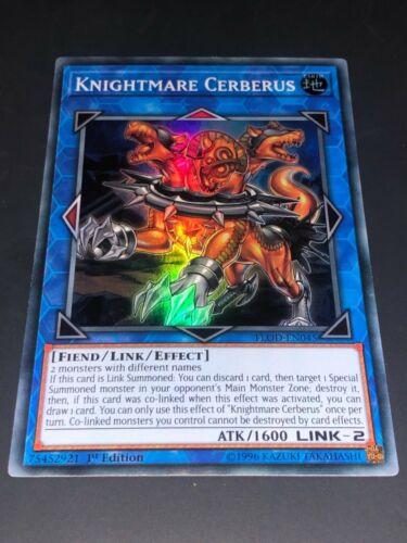 Kngihtmare Cerberus flod-en045 mixed edition super rare Yugioh card