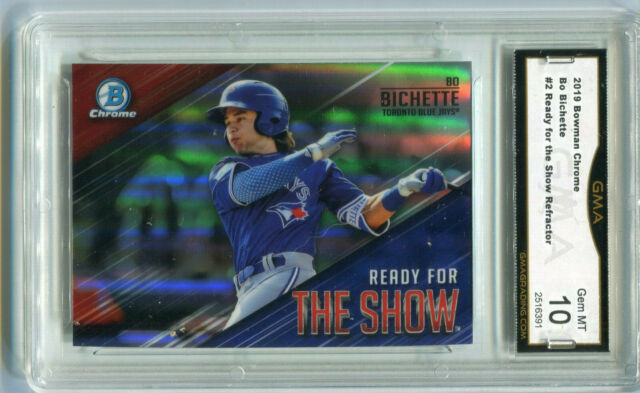 2019 Bo Bichette Bowman Chrome The Show Rookie Gem Mint 10 #2