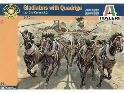 1/32 Italeri Gladiators Con Quadriga 6874