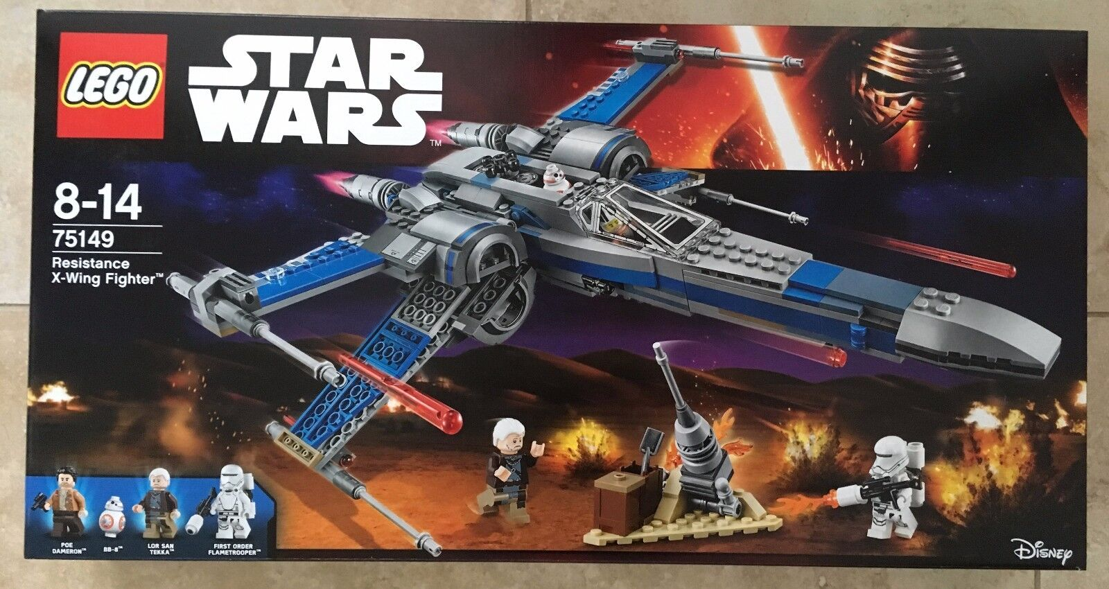 LEGO Star Wars Resistance X-Wing Fighter (75149) New Sealed