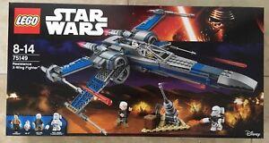 Combattant X-wing Résistance Lego Star Wars (75149) Neuf / scellé