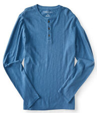 aeropostale mens long sleeve surf wash henley shirt