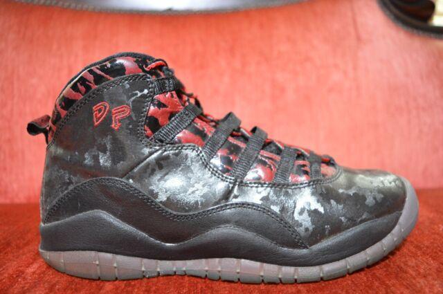 3e8a4f57d0586a 641746-060 Nike JORDAN 10 RETRO Doernbecher BLACK RED GRADE SCHOOL KIDS  Size 6.5