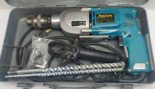 Makita Hp2010n 34 2 Speed Hammer Drill Original Metal Tool Box Withbits Tested