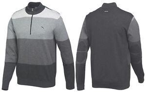 Puma-Golf-GoTime-1-4-Zip-Sweater-Pullover-Sweatshirt-Jumper-RRP-65-S-M-L