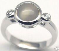 Gorgeous Woman Montana Agate Silver Ring S 7, 153