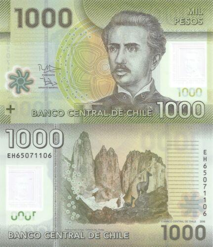 Polymer//National Park//p161g UNC Chile 1000 Pesos 2016