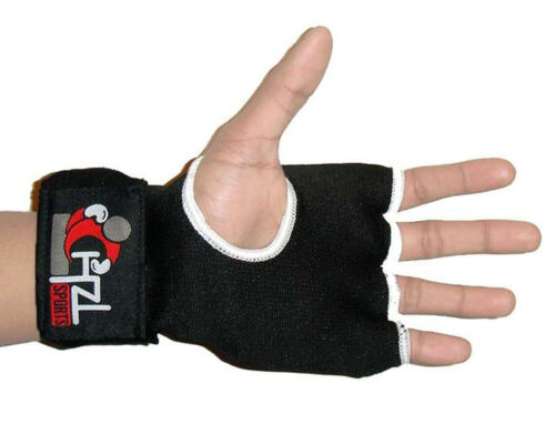 CHZL Boxing Inner Hand Wraps Fist GEL Padded Bandages GRAPPLING GLOVES mma L