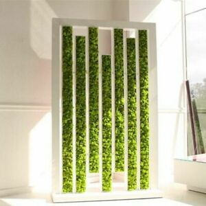 Artificial Green Plant Fake Moss Grass Home Room Decorative Wall Accessories Ebay