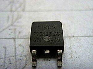 5PCS NIKOS P3055LDG TO-252 N-Canal Niveau Logique