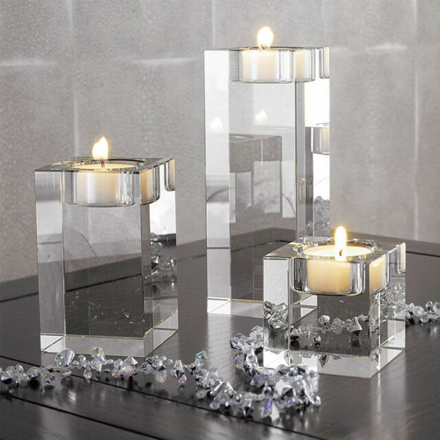 Gl Candle Holder Tea Light Stand