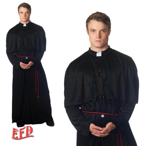 Adult Priest Holy-er Than Thou Vicar Fancy Dress Costume Stag Night Party