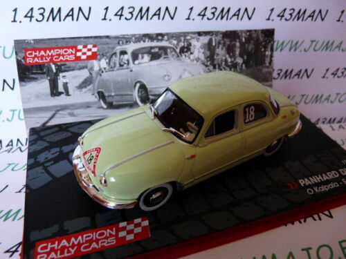 PANHARD DYNA 1954 Kalpala RF3M voiture 1//43 IXO Rallye Champions Finlande