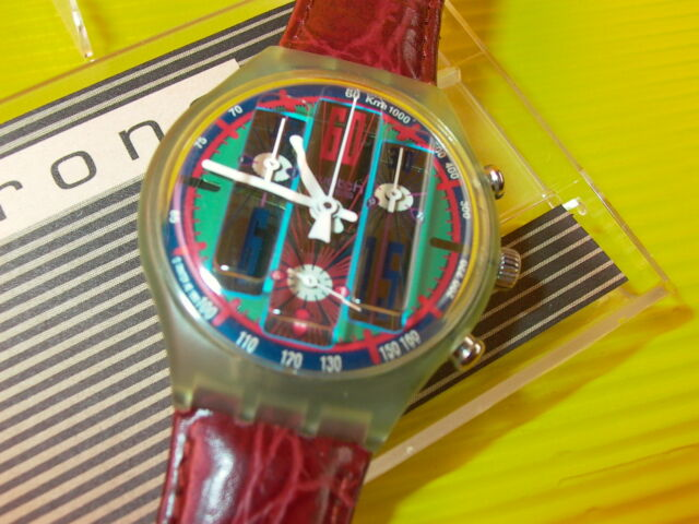 Swatch Chrono TYRONE in NEU & OVP + neuer Batterie SCG105