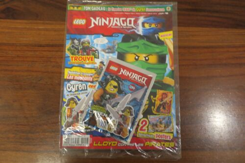 LEGO NINJAGO    MAGAZINE  N°2  JUIN  2016 FIGURINE CYREN