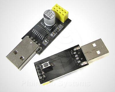 ESP8266 ESP-01 Flasher mod.prog, USB Programmer Uploader für Arduino IDE, IoT