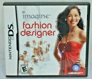 Imagine Fashion Designer Nintendo Ds 2007 3307210321961 Ebay