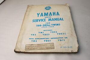 1962-66 250-360 Twins Yamaha Factory Service Manual