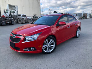 2012 Chevrolet Cruze LT RS Package