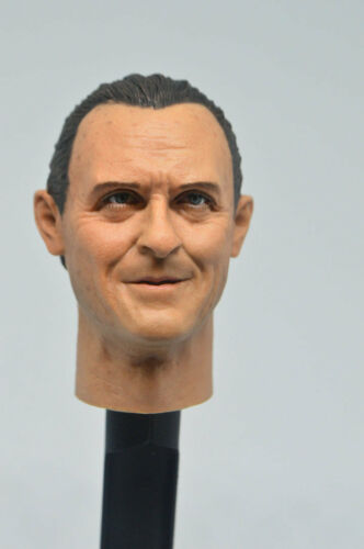 1//6 Custom Head Anthony Hopkins as Hannibal Lecter from Silence of the Lambs