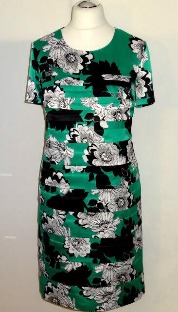 Gerry Weber Kleid Gr. 46 OVP 130€ Damenkleid Etuikleid Satinkleid Abendkleid