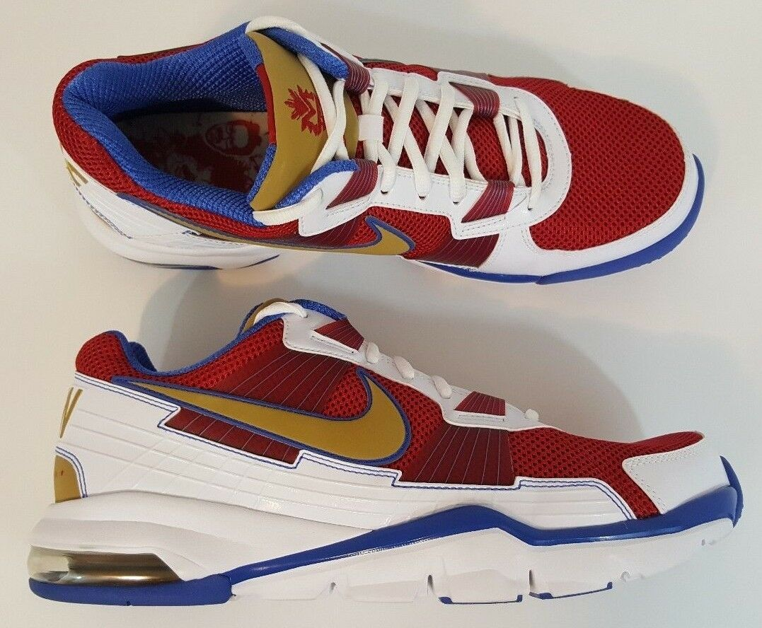 DS Nike Air Trainer Low SC Manny Pacquiao 2010 Low Trainer Pacman Men's Size 10.5 Ships Fast 96fcec