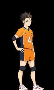 """Haikyuu Karasuno High Vollyball Shoyo Hinata Anime Sticker 6/"""" Car Decal"""