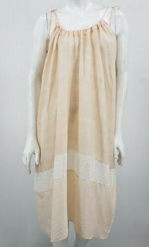 Pondicherie Sita Tie Dress One Size Blush Silk Org