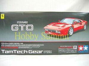 Tamiya-1-12-R-C-FERRARI-288-GTO-Car-TamTech-GT-01-Chassis-Kit-57103