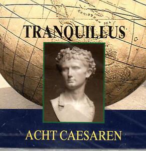 Tranquillus-Acht-Caesaren-Hoerbuch-2-CDs-NEU-OVP-B-WARE