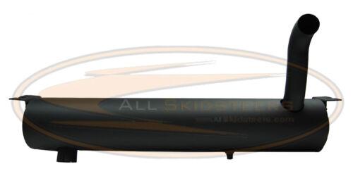 New Bobcat Insulated Spark Arrestor Muffler 751 753 763 773 7753 Pipe Exhaust