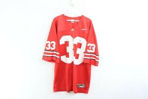 Vintage-Nike-Uomo-XL-Ohio-State-Buckeyes-James-Laurinaitis-Football-Jersey-33