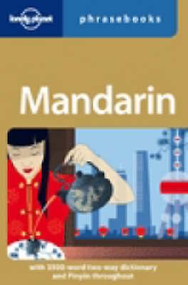 """AS NEW"" Mandarin Phrasebook (Lonely Planet Phrasebook), , Book"