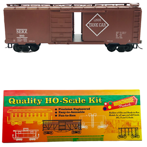 Roundhouse-HO-Scale-Train-Linde-Tank-Car-Serx-900-40-039-AAR-Box-Car-02048