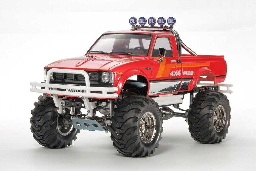 47394 Tamiya 1 10 RC Coche Toyota montaña jinete 4x4 3 velocidad Kit de camión de recogida