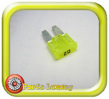 FUSE Micro2 Style 9mm 20 Amp Yellow FOR  Late Model Jeep Cherokee Grand Cherokee
