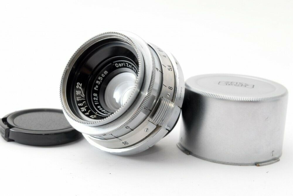 Image 1 - Excellent++ Contax Carl Zeiss Jena Biogon 3.5cm 35mm f/2.8 Lens for Contax II