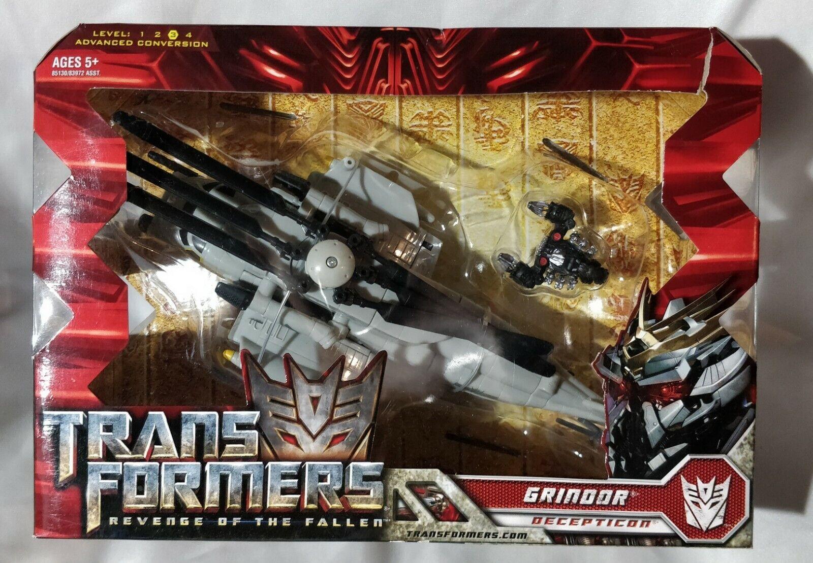 Hasbro Transformers Grindor Voyager classee rossoF Decepticon RARE azione  cifra  bellissima