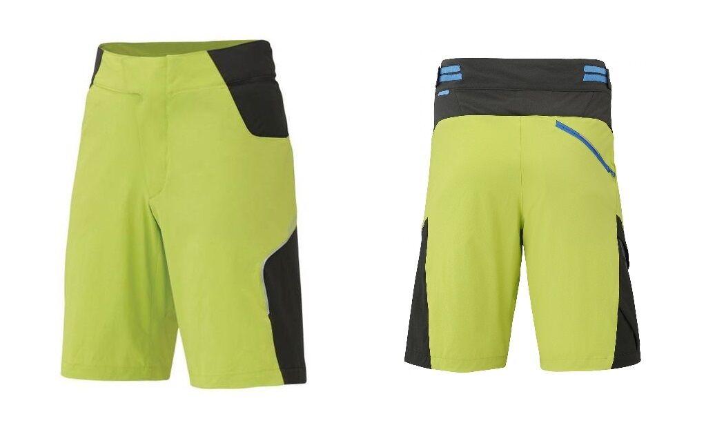 SHIMANO EXPLORER Bike Shorts mit und Innenhose und mit Sitzpolster NEU bb055a