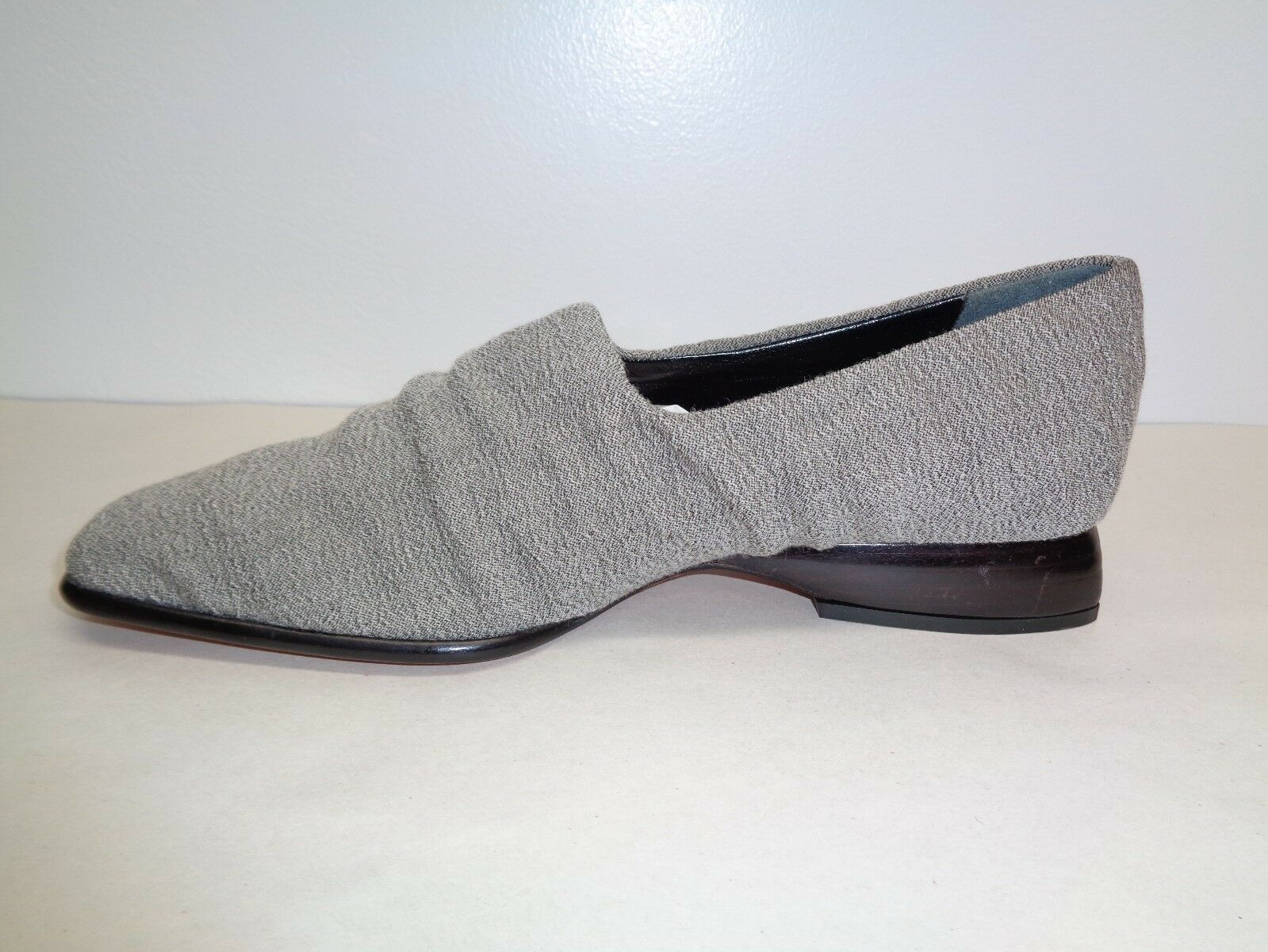 Pancaldi Größe 6 New M P9574 Gray Fabric Heels Pumps New 6 Damenschuhe Schuhes d66270
