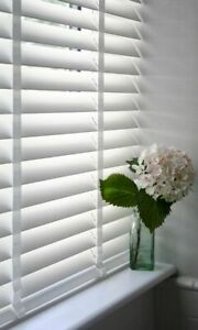 Cheapest On Ebay Quality Blinds At Trade Price 50mm Tape Faux Wood Blinds Ebay