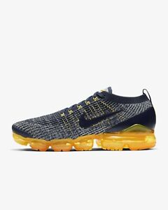 info for b6366 0391c Details about Nike Air VaporMax Flyknit 3 Navy Grey Laser Orange AJ6900-400  Men's Size 7-14