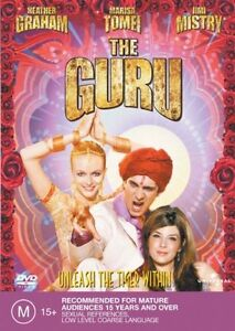 DVD-The-Guru-Heather-Graham-PAL-R2-amp-4