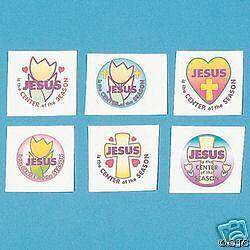 Jesus Is The Center Of The Season 12 TEMPORARY TATTOOS