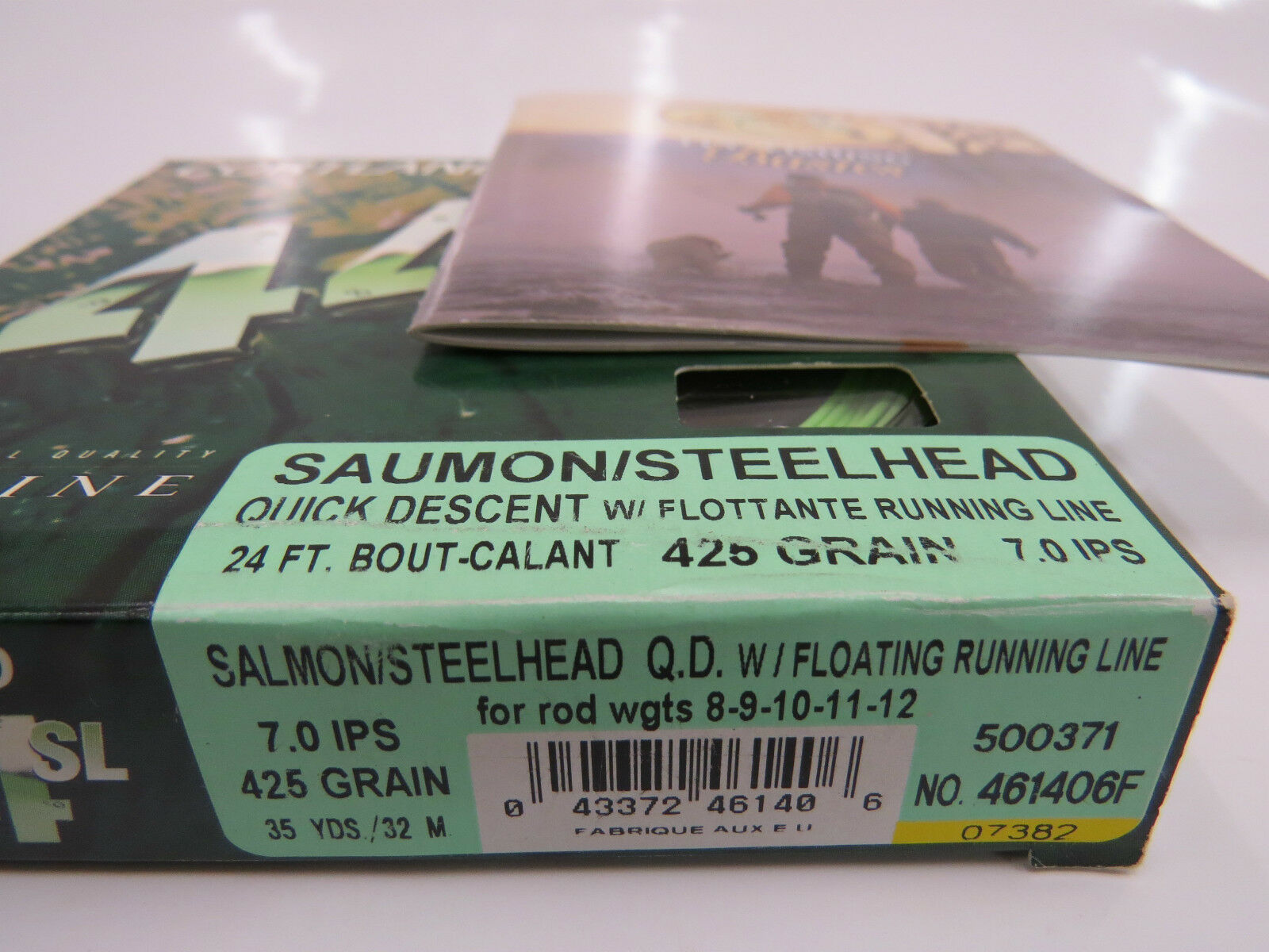 Cortland 444 Salmon Steelhead Floating RUNNING LINE 7.0 IPS 425 grain 35 yds