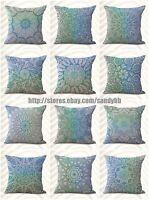Us Seller-10pcs Cheap Wholesale Cushion Covers Mandala