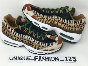 huge discount 714d9 280e5 Image is loading NIKE-AIR-MAX-95-X-ATMOS-ANIMAL-PACK-