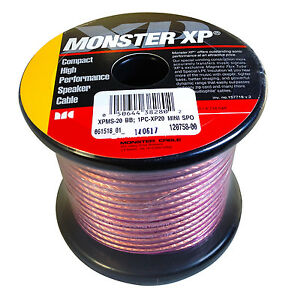 Awesome Details About Monster Cable Xp High Performance 16 Gauge Speaker Wire 20 Ft Spool Wiring Cloud Hisonuggs Outletorg